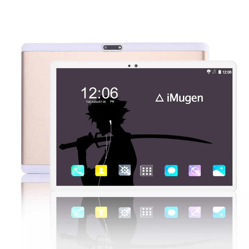 1920*1200 IPS 10 zoll Tablet PC 10 core Android 8.0 RAM 6GB ROM 64GB Dual SIM karte 4G Telefon tabletten 2,4/5G WIFI Bluetooth MT6797