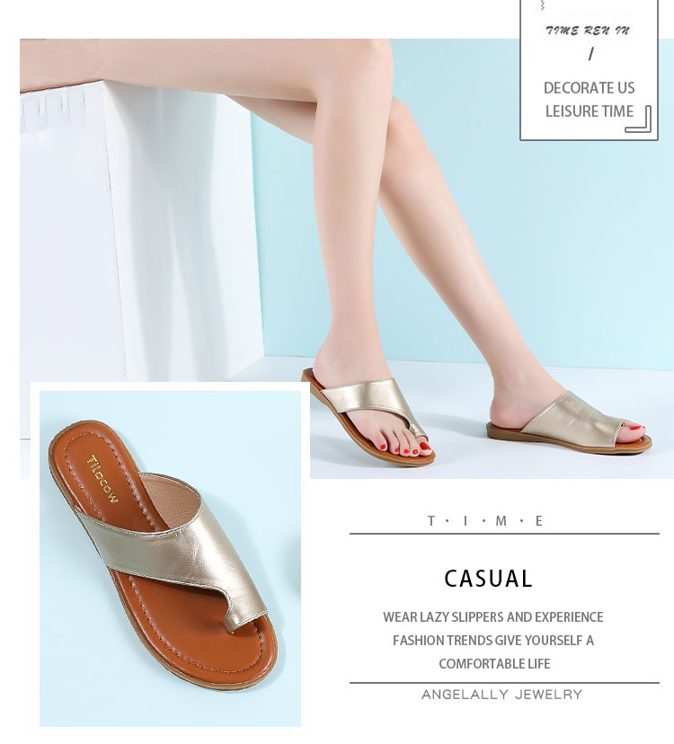 LAASIMI 2020 Summer Women Slippers Bunion Sandals Casual Flat Slip On Shoes Female Flip Flops Women Slides Orthopedic Corrector