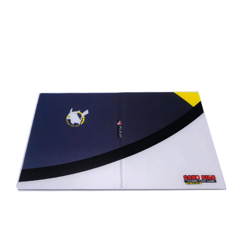 240 шт. держатель Альбом игрушки коллекции pokemones карты Альбом Книга Топ загруженный список игрушки подарок для детей - Цвет: Grey