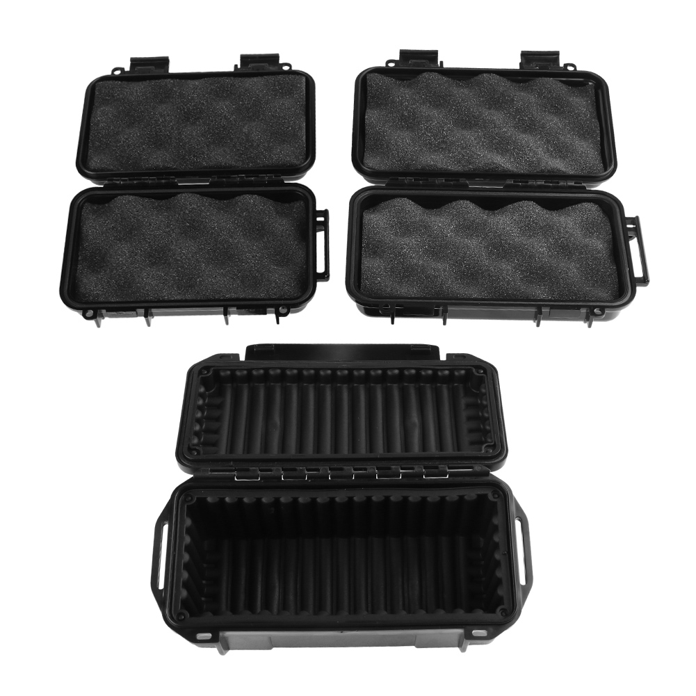 Portable Outdoor Shockproof Sealed Waterproof Case ABS Plastic Tool Dry Box Safety Container Storage Carry Box