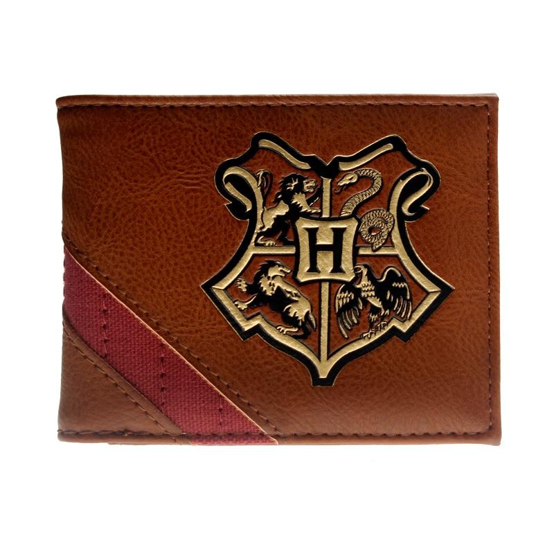 Hogwarts Fashion  Men Wallets Women Wallet With Small Money Purses New Design Dollar Slim Purse Money Clip Wallet
