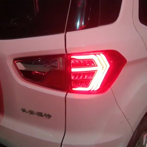 Image 2 - CSCSNL 2Pcs LED TailLight For Ecosport 2013 2019 Tail Lights Fog lamp Rear Lamp DRL+Brake+Park+Signal Bulb Decoration Lamp