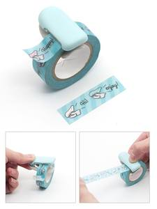 Masking-Tape-Cutter Stickers Tapes Journal-Tool Paper Color-Dispenser Adhesive Washi