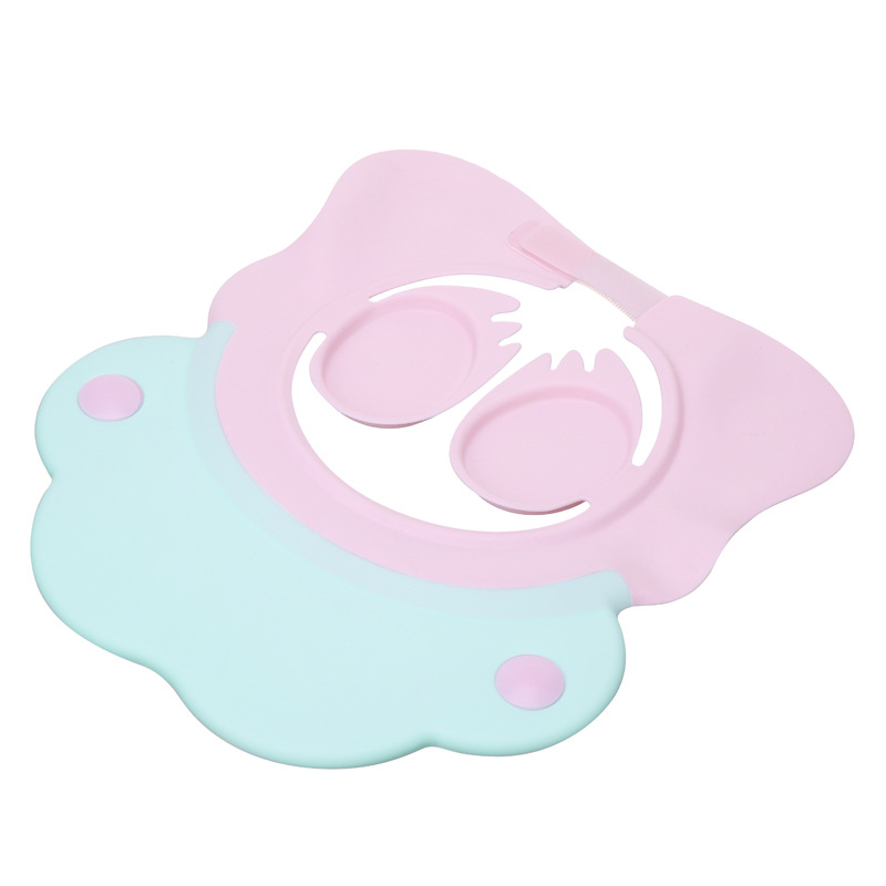 Adjustable Baby Shower Cap Shampoo Bath Wash Hair Shield Hat Protect Children Kid Waterproof Prevent Water Into Ear for Child