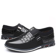 Genuine Leather Men Casual Shoes Brand 2019 Mens