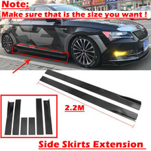 Car-Accessories Side-Skirts Extension Lip Universal Civic-Benz BMW for Rocker-Panels