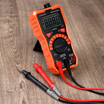 Wmore soldering iron Digital Multimeter 6000 counts Auto Ranging AC/DC voltage meter Flash light Back light Large Screen