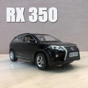 Image 5 - 1:32 Lexus SUV RX350 araba modeli alaşım araba döküm Model oyuncak araba çocuk oyuncak BirthdayChristmas hediyeler ücretsiz kargo