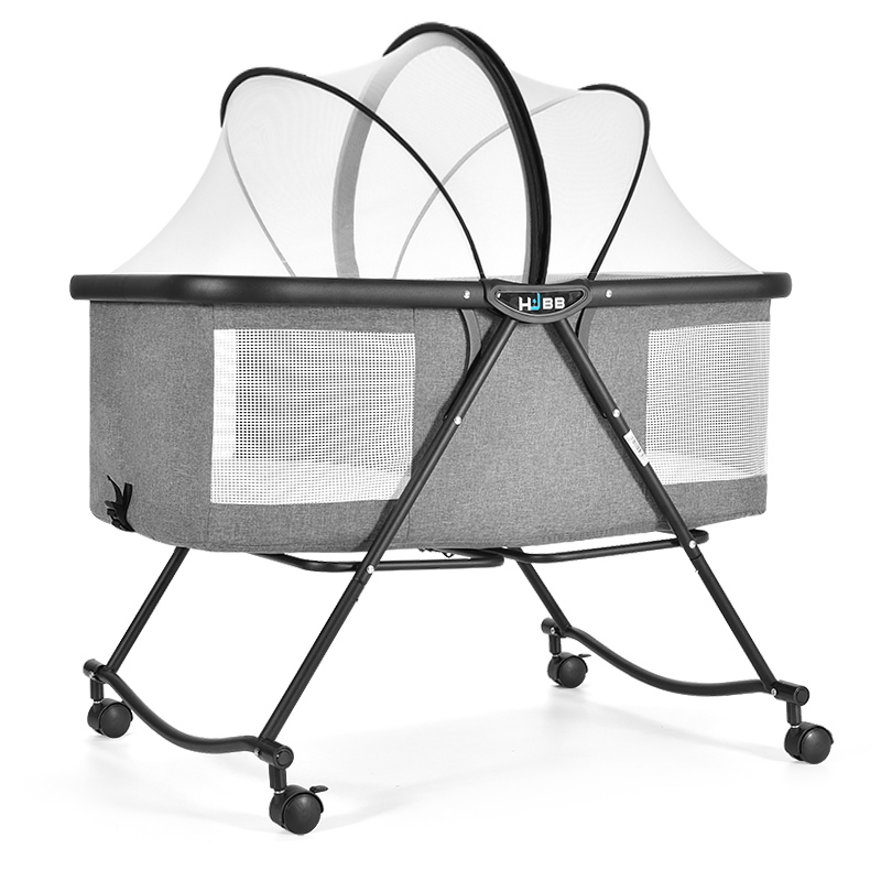 Crib Folding Multifunctional Portable Baby Cradle Bed Small Shaker European Baby Bed Basket Bb Bed