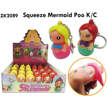 Lot of 20 Keychains to tighten poop Little Mermaid-Details and gifts for weddings, baptisms, communions, birthday and parties.