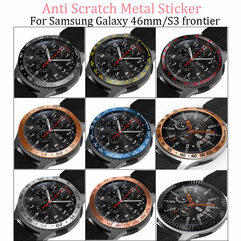 Famoso Watch Dial Bezel Ring For Samsung Gear S3 Frontier/galaxy watch FB23