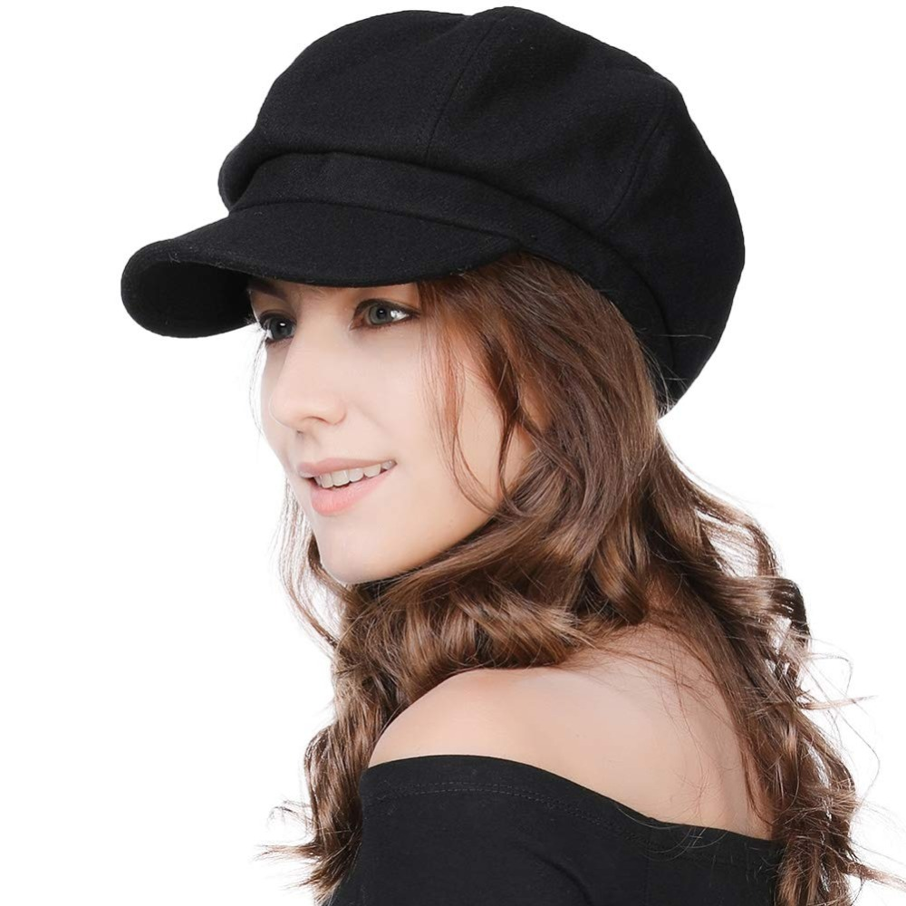 Patraque oeillères Crème Hat Newsboy Gatsby Cap Flat Baker Boy Laine Mix Bakerboy Hommes