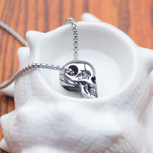 Skull Pendant Necklace 2