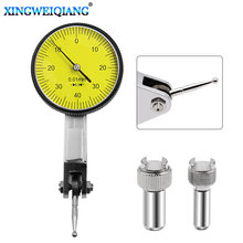 Ferramenta de medição medidor de precisão, ferramenta métrica com ponta ponteira de encaixe 0-4 0.01mm