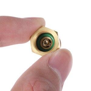 """Image 3 - Yetaha Auto Klimaanlage R12 R22 R502 Schraube zu R134A Conversion Adapter Ventil 1/4 """"SAE zu 8v1 Gewinde"""