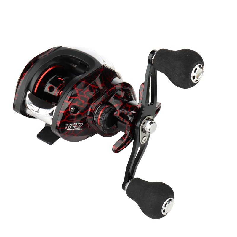 GUGUFISH Left/Right Hand Baitcasting Fishing Reel 7.2:1 Bait Casting Fishing Wheel With Magnetic Brake Carp Carretilha Pesca 1
