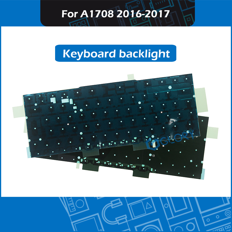 New Black Cover Foil Paper Shield Backlit For Macbook Pro Retina 13 A1708 Keyboard Backlight Replacement 2016 2017 Year image