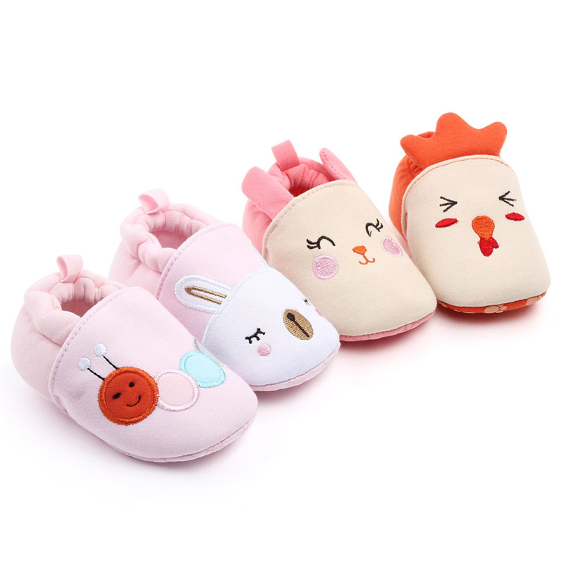 Baby Boys Girls Shoes Breathable Cute Casual Cartoon Shoes Sneakers Toddler Soft Soled First Walkers For 0-12M