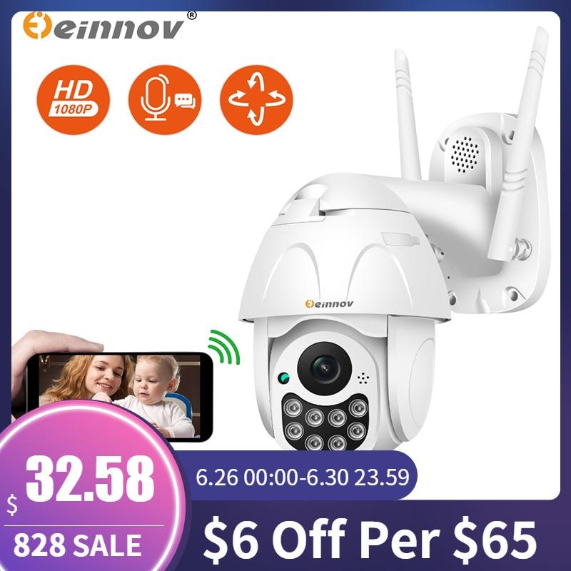 Einnov Ip-Camera Camara Audio Wifi Night-Vision Surveillance Onvif Outdoor P2P 1080P