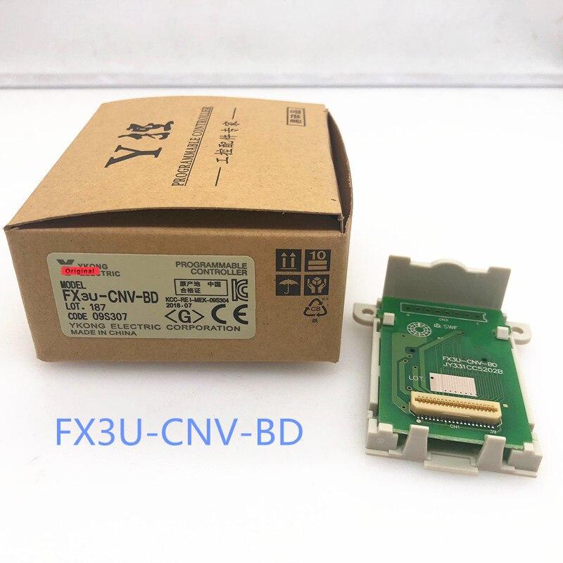 Frete Grátis FX3U-CNV-BD... FX3U série Conversão Placa de comunicación... Adaptador PLC FX3U-CNVBD Especial Placa De Conversão de FX3UC