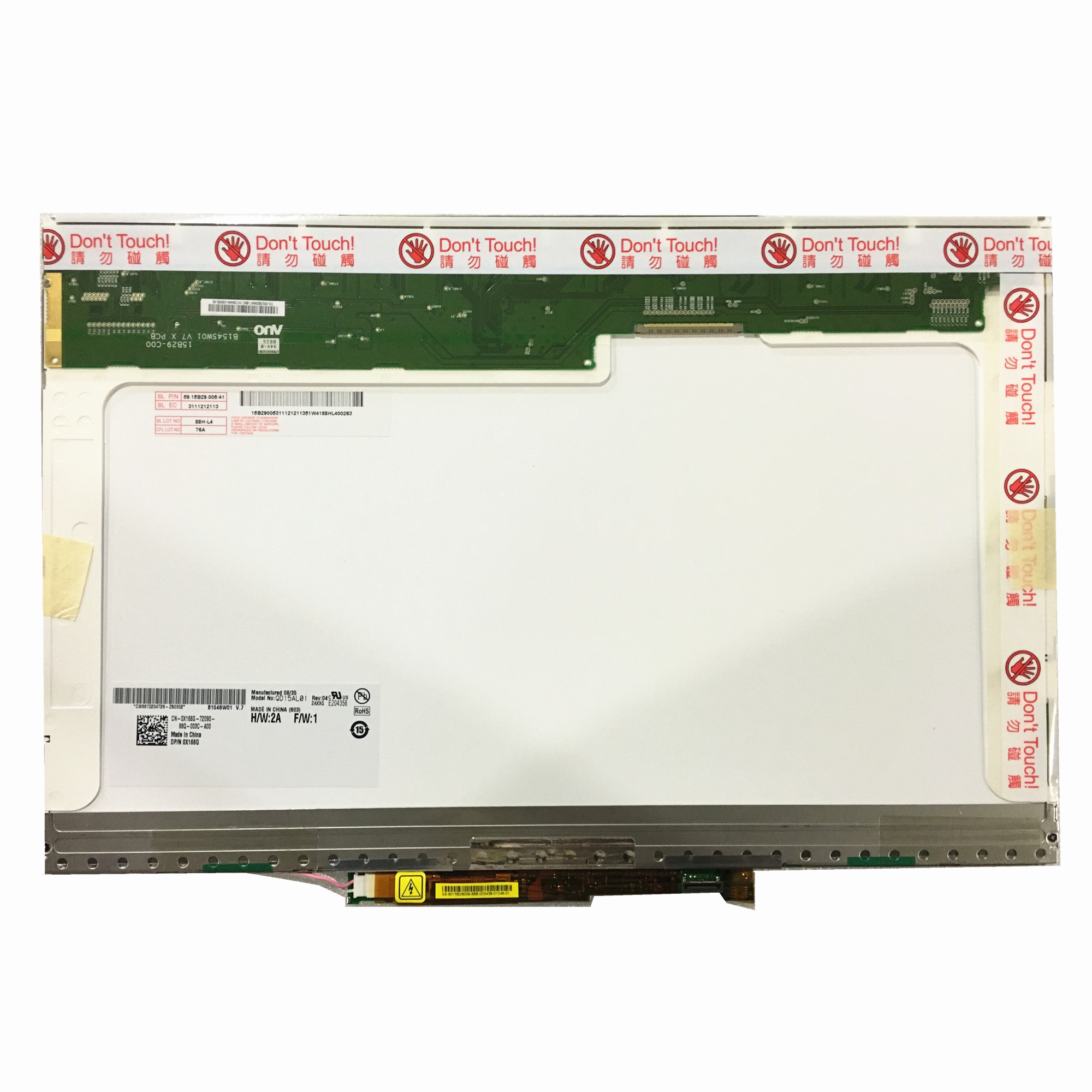 Free Shipping QD15AL01 B154SW01 V0 LP154WE2-TLA1 15.4 Inch Laptop Lcd Screen 1680*1050 LVDS 30pin
