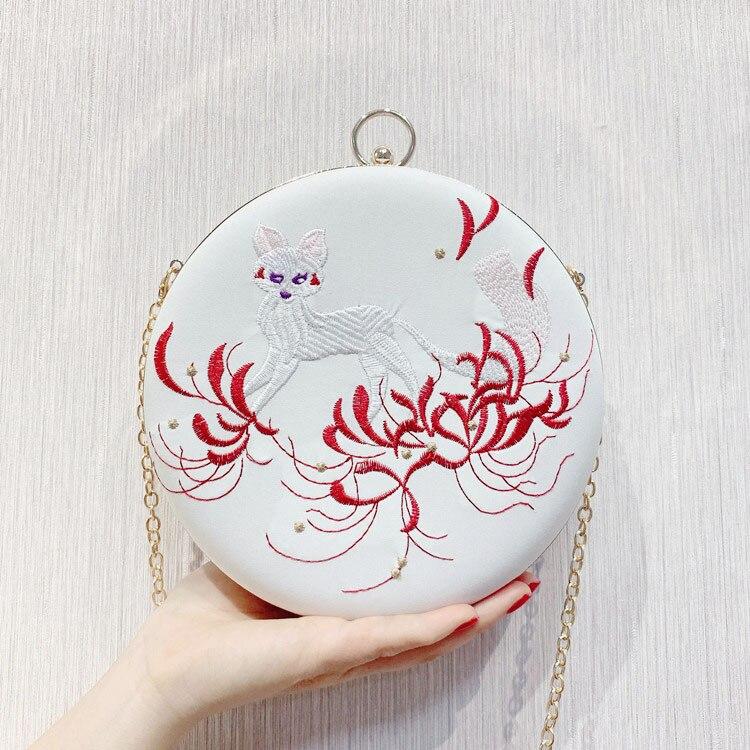 Сумка-мессенджер с вышивкой Cheongsam, китайская ручная сумка с вышивкой, новинка, ручная сумка, вечерние сумки - Цвет: 06