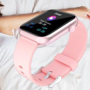 Image 5 - SENBONO 2020 R3L Intelligente Della Vigilanza Degli Uomini Completa di Tocco Inseguitore di Fitness Misuratore di Pressione Sanguigna Intelligente Orologio Da Donna GTS Smartwatch per IOS Android IWO