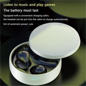 Image 5 - Auriculares TWS X21S con Bluetooth 2020, inalámbricos, reducción de ruido, llamada HD, Mini auriculares invisibles con estuche de carga, 5,0