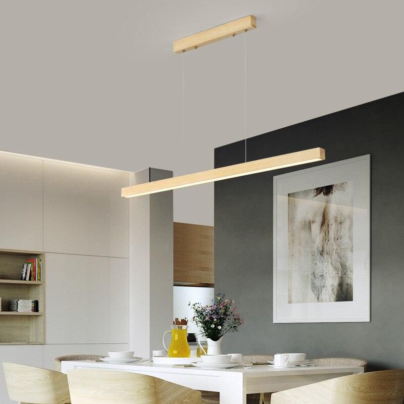 madeira nordic minimalista aluminio pingente lampada restaurante 05
