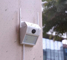 1080P กันน้ำ IP กล้อง IR HumanBody Induction Videcam Motion Detection สมาร์ท Induction โคมไฟกลางแจ้งกล้อง V380