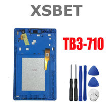Display LCD Touch Screen Digitador Para Lenovo Tab 3 7.0 710 l Tab3 TB3-710 TB3-710F TB3-710L TB3-710I Assembleia + ferramentas Gratuitas(China)