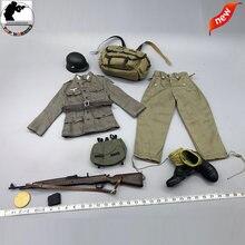 Фигурка 1/6 модель немецкого горного солдата g43 униформа для