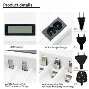 Image 5 - PHOMAX – chargeur de batterie intelligent avec écran LCD à 4 fentes, protection contre les courts circuits, pour piles rechargeables AA/AAA NiCd NiMh