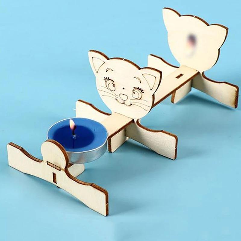 Kids Educational Science Experiment Technology Toy Set DIY Pinhole ImagiH4