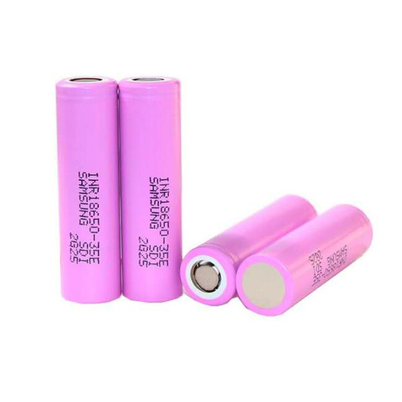 SamsungINR18650-35E T 3.7V 3500Mah 8A Rechargeable Lithium ion 18650 Battery for Samsung 35E 35E T image