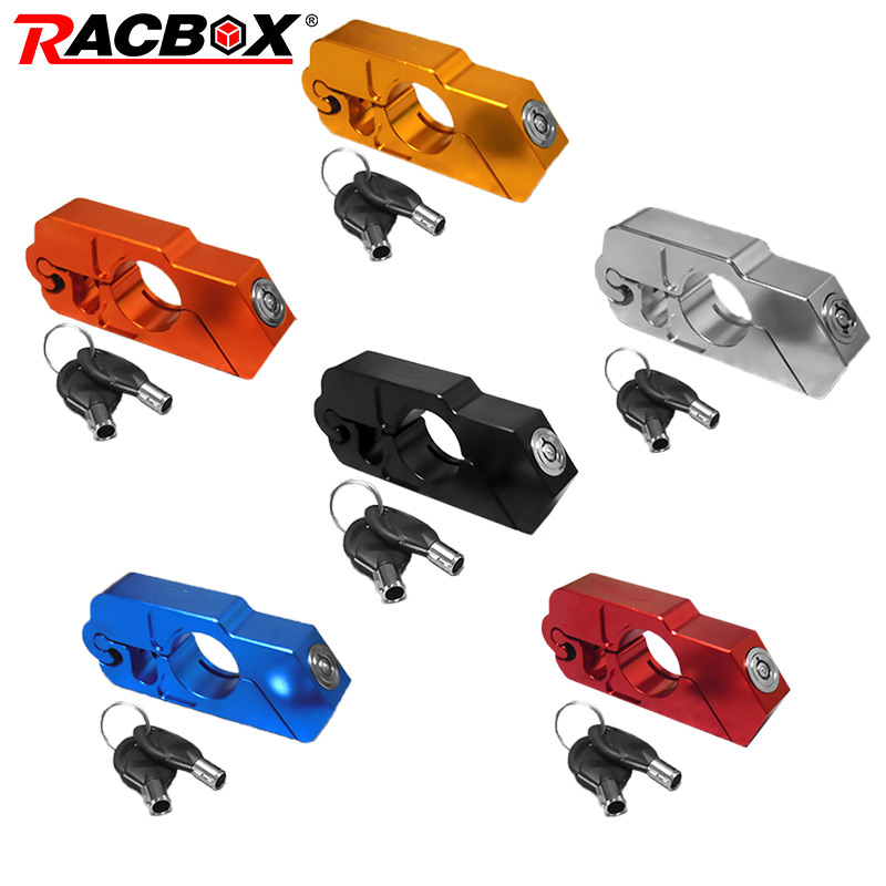 CNC Handle Bar Brake Clutch Lever Lock for Kawasaki Z1000 Z800 Z750 Blue