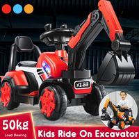 Paseo en coche excavadora niños juguete equilibrio coche camión de plástico de juguete de cumpleaños, regalo de Navidad para 2-6Year niños y niñas