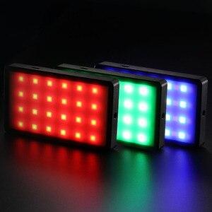 Image 5 - RB08/RB08P Ultra ince kısılabilir LED Video ışığı LED ekran pil ile kamera DSLR fotoğraf aydınlatma dolgu işığı