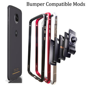 Bumper-Case Moto Mods Metal Z2 Play Z2-Force Shockproof Z3 Compatible Aluminum Frame