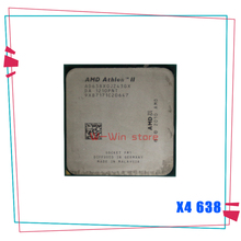 AMD Athlon II X4 638 2,7 GHz Quad-Core CPU procesador AD638XOJZ43GX Socket FM1