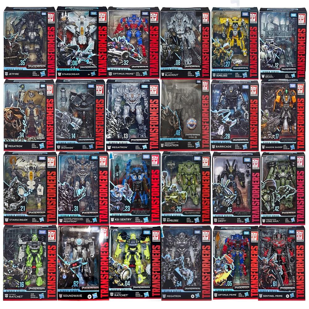 Трансформаторы Hasbro Studio серии SS, серия Megatron Bumblebee, трещотка Optimus Prime starcry Lronhide Bolide, трансформатор, игрушки