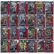 Hasbro transformadores série de estúdio série ss megatron bumblebee catraca optimus prime starscream lhonhide bolide transformador brinquedos