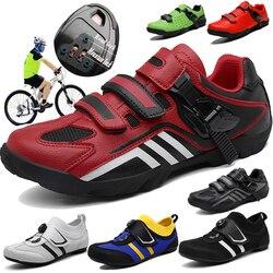 CUNGEL obuwie rowerowe termoaktywne 3K z włókna węglowego szosowe trampki klamra lub 1/2 sznurowadła samoblokujący rower termoplastyczny|Buty rowerowe|Sport i rozrywka -