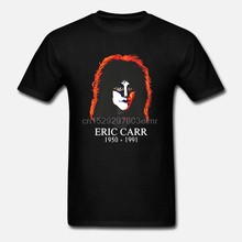 Eric carr camiseta preta masculina roupas