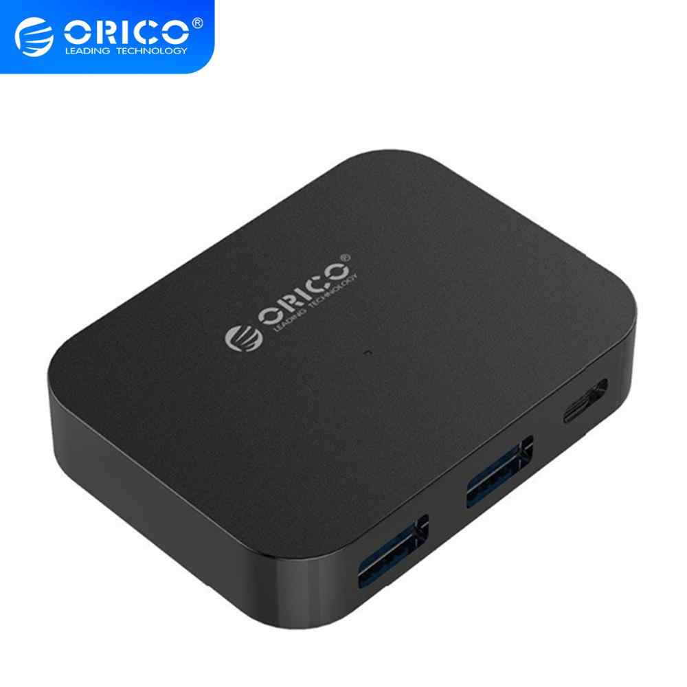 ORICO çoklu USB 3.0 Hub yüksek hızlı tip-c USB Splitter USB C HUB TF SD kart okuyucu desteği macBook için OTG Pro OS PC bilgisayar