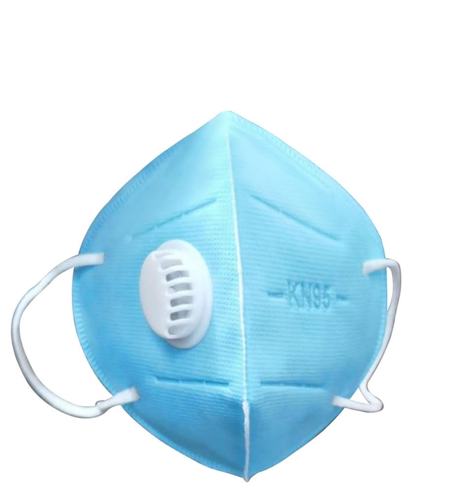 Adult N95 Kn95 Mask Respiration Outdoor Anti Dust Mouth Face Masks With Breathing Valve Use For 3 Days Strong Protection