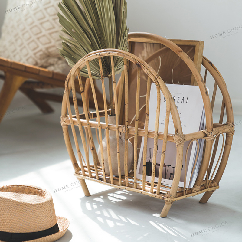 Офисная корзина для хранения ручной работы из ротанга настольная стойка для хранения книг|Хранилище для дома и офиса|   | АлиЭкспресс - Ваш красивый дом