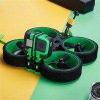 IFlight-Dron de carreras con visión en primera persona, cuadricóptero de control remoto con cámara Caddx EOS2, cámara SucceX Micro Force VTX, 3 pulgadas, verde Hornet H V2, 4S 6S