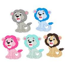 TYRY.HU 10 pcs Silicone Baby Teethers Lion Cartoon Teethig T