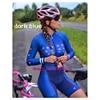 Laranja longo de mangas compridas camisa ciclismo skinsuit 2020 mulher ir pro mtb bicicleta roupas opa hombre macacão 9d gel almofada skinsuit 9